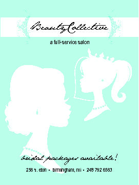 Beauty Collective Hair Salon Bridal Packages
